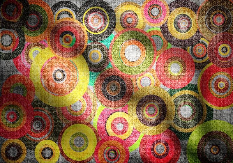 створки кругов стоковое фото