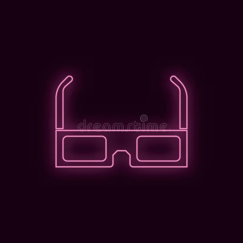 стекла картона 3d, неон, значок r r бесплатная иллюстрация