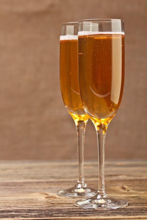 Стекла Шампань стоковые изображения
