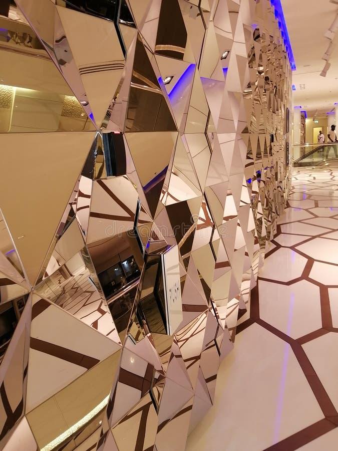 стекла 3D работают чудесные творческие способности стоковое фото