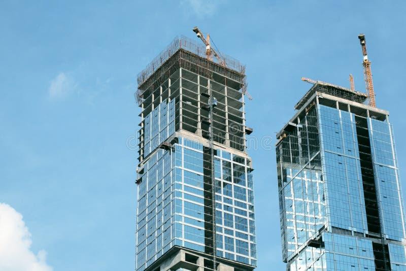 стекло дела зданий самомоднейшее стоковое фото