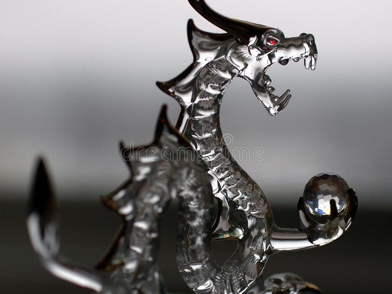 стекло дракона Стоковые Фотографии RF