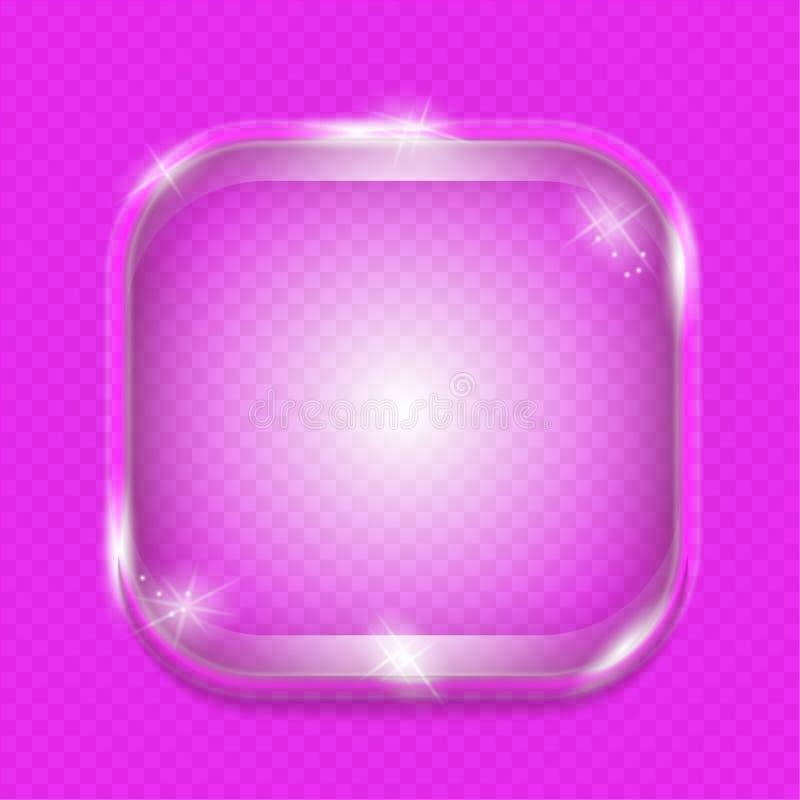 Стекло знамени прозрачное бесплатная иллюстрация