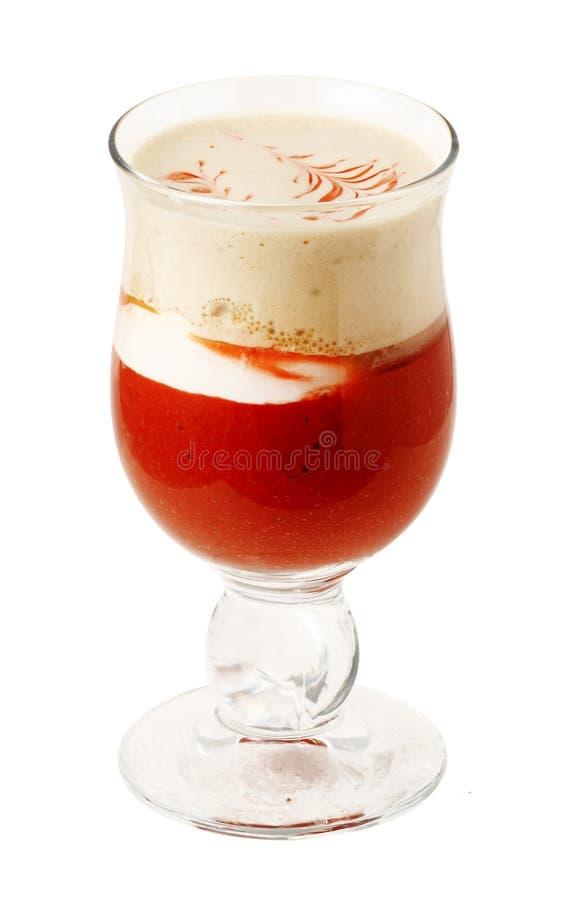 стекло кофе 10 коктеилов стоковое изображение rf