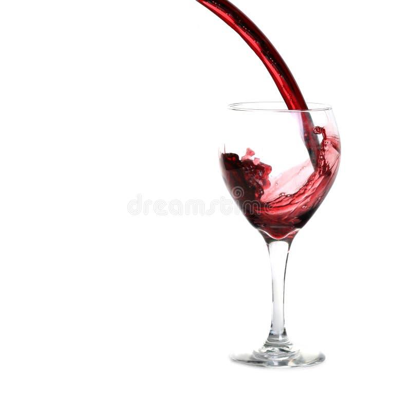 стекло красное вино стоковые фотографии rf