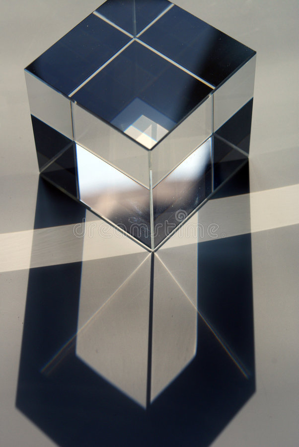 стекло кубика стоковые изображения