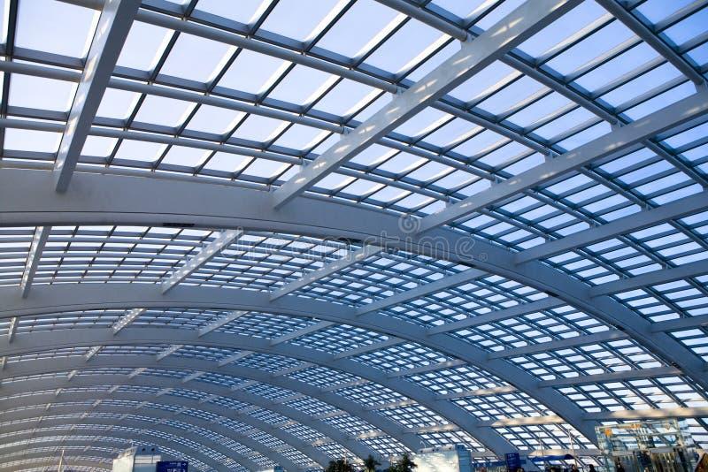 стекло купола зодчества самомоднейшее стоковая фотография rf