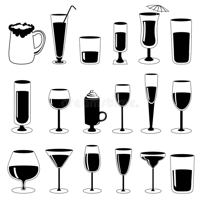 стекло спирта бесплатная иллюстрация