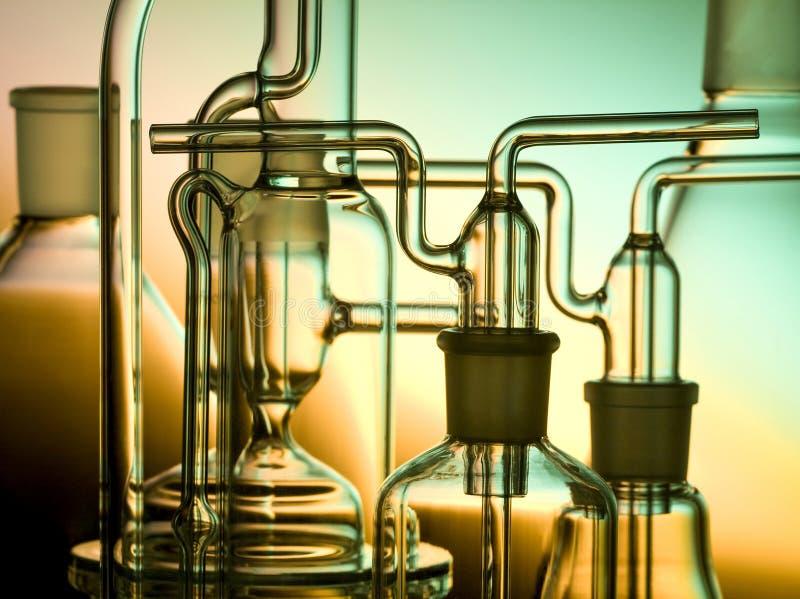 стекло химика стоковые фотографии rf