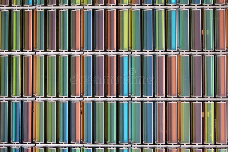 стекло цвета стоковая фотография rf