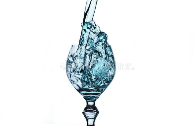Стекло чистой питьевой воды стоковые изображения