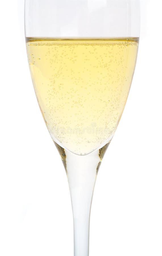 стекло шампанского одиночное стоковое изображение