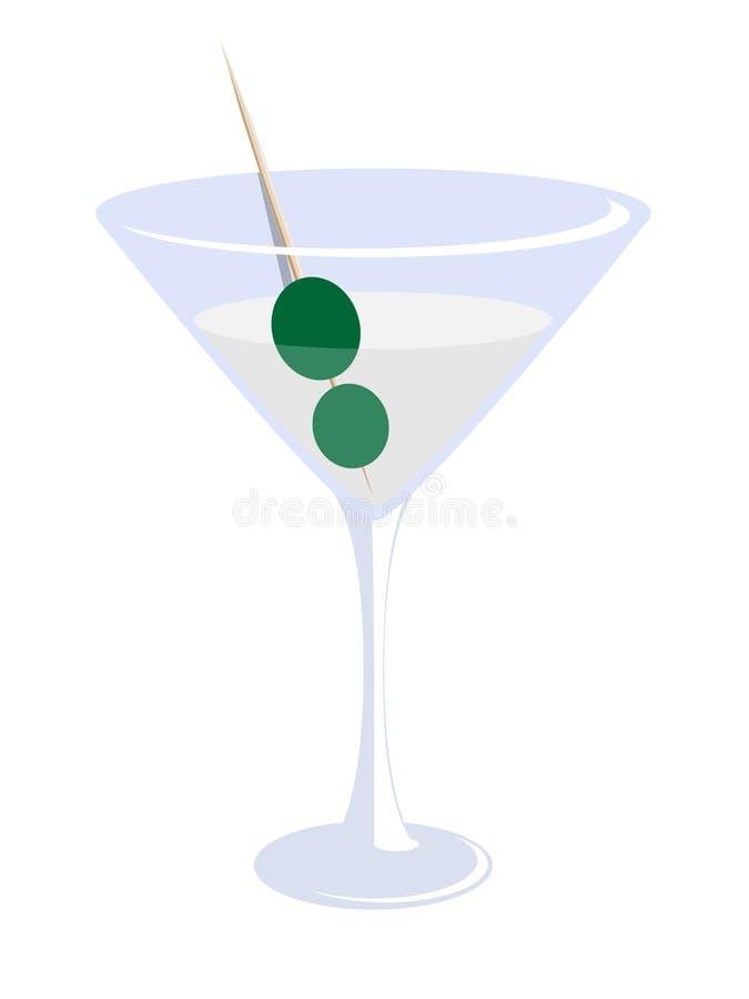 Стекло Martini стоковые изображения rf