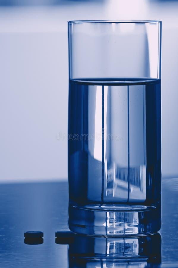 стеклянная вода пилек стоковые фото