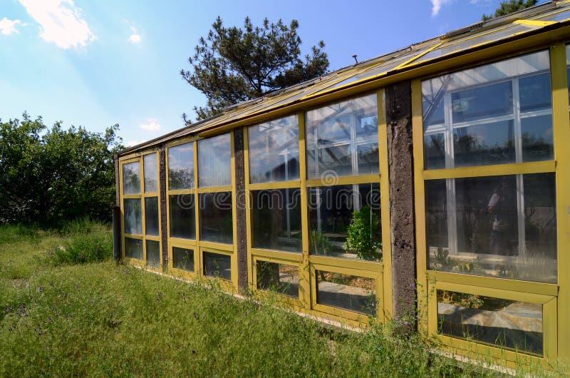 стеклянная дом стоковые фотографии rf