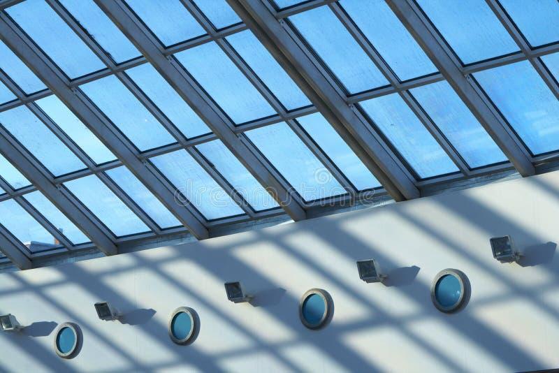 стеклянная крыша стоковые изображения rf