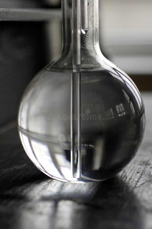 стеклянная лаборатория стоковое фото