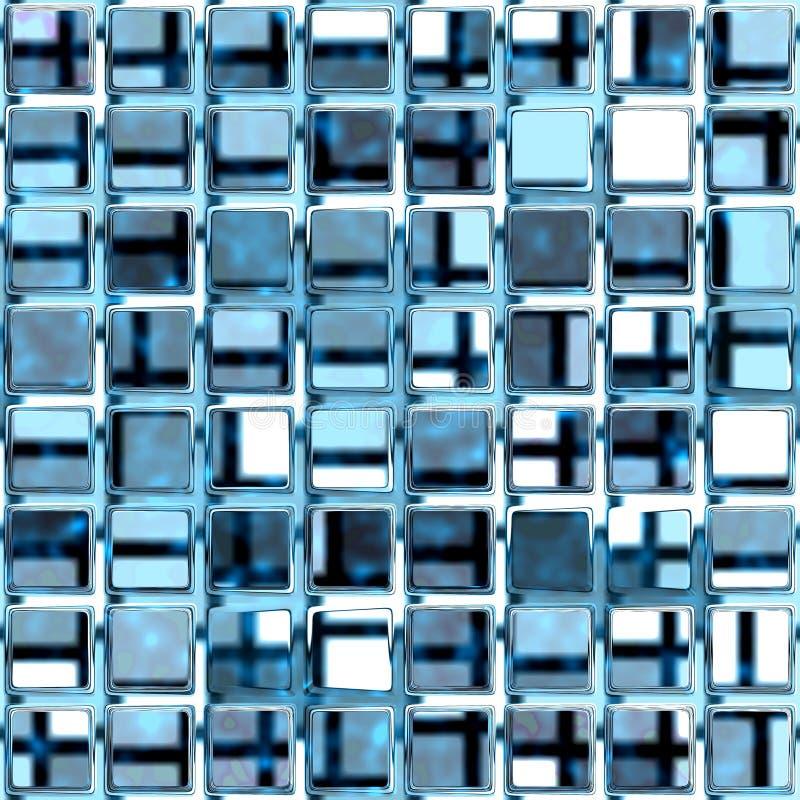 стеклянная решетка иллюстрация штока