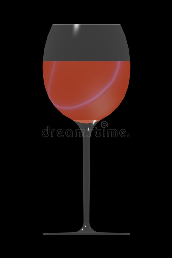 Download стеклянное вино иллюстрация штока. иллюстрации насчитывающей торжество - 481334