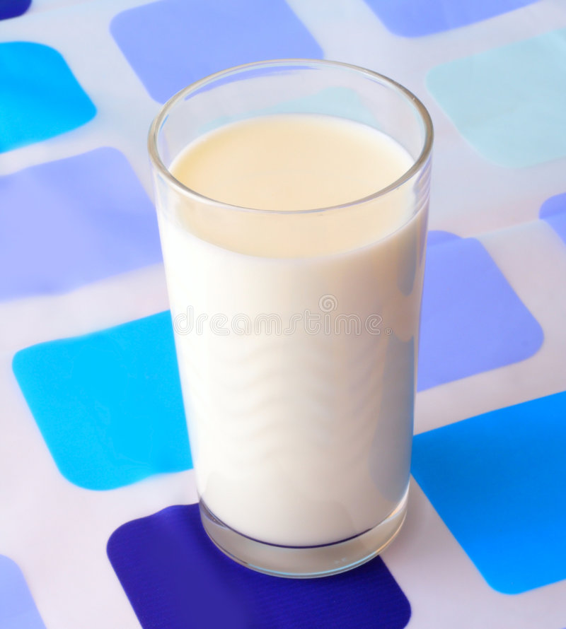 стеклянное молоко стоковые фото
