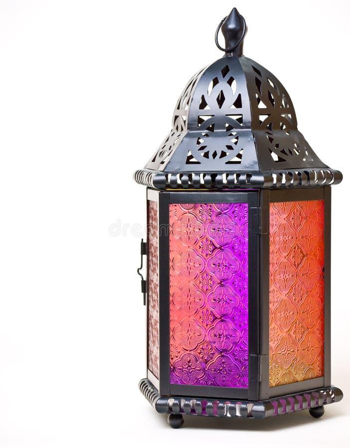 стеклянное олово фонарика стоковое изображение rf
