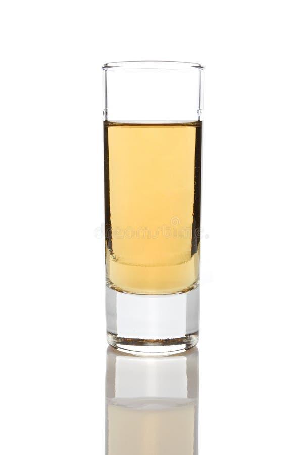 стеклянное rakija стоковое изображение