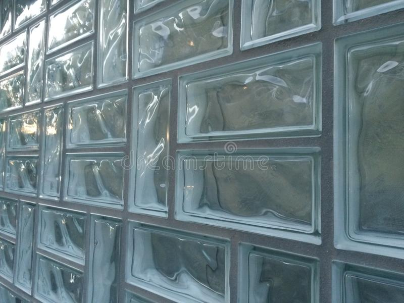 Стеклянные кирпичи стоковые фото