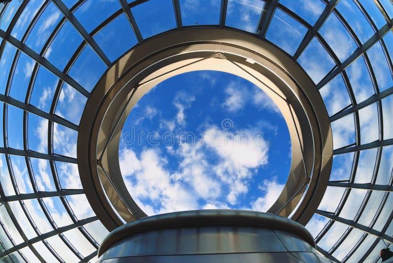 Стеклянный куполок стоковое фото