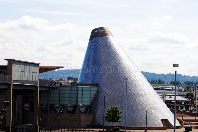 стеклянный музей стоковые фотографии rf