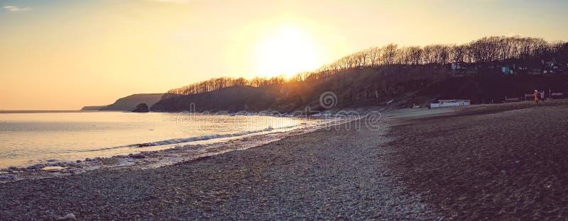Стеклянный пляж привлекательность для путешественников и туристов стоковая фотография rf