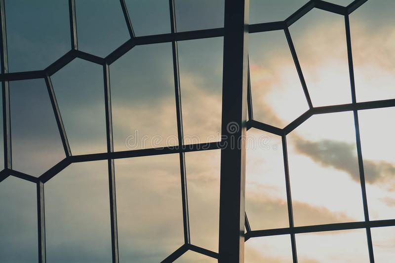 стеклянный помеец стоковое изображение rf