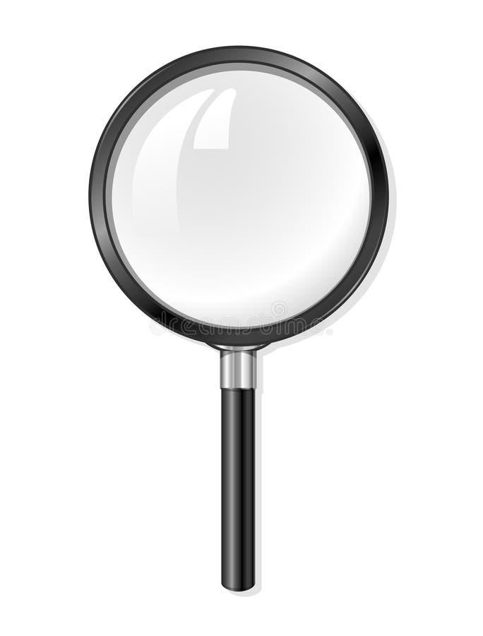 стеклянный увеличивая вектор инструмента бесплатная иллюстрация