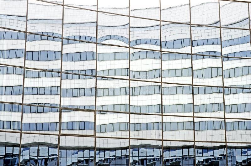 Стеклянный фасад арены Минск дворца льда стоковое фото