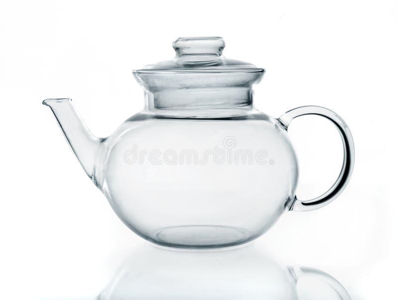 стеклянный чайник стоковая фотография