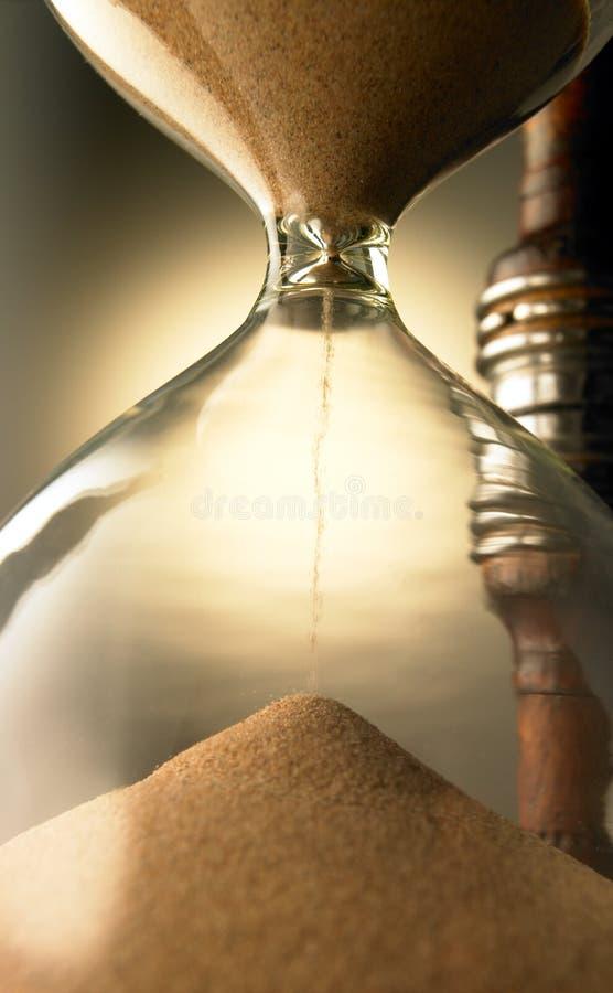 стеклянный час стоковое фото rf