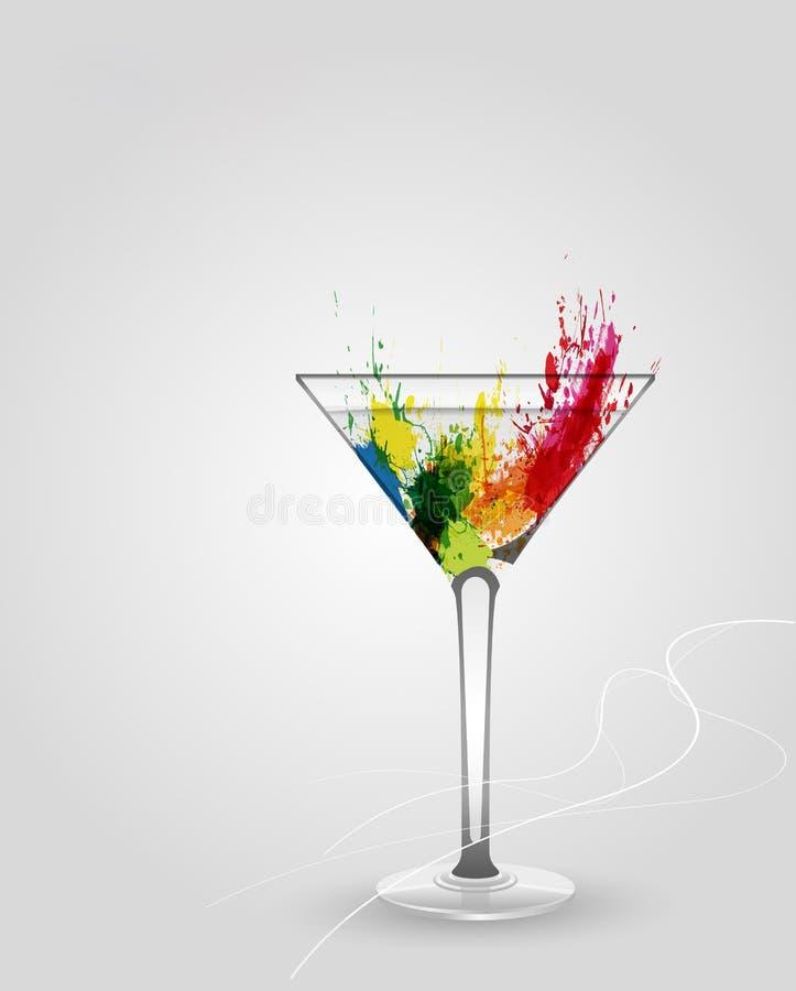 стеклянный martini бесплатная иллюстрация