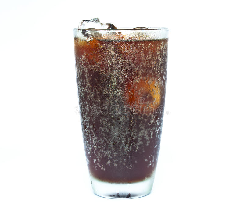 Стекло безалкогольного напитка стоковое фото rf