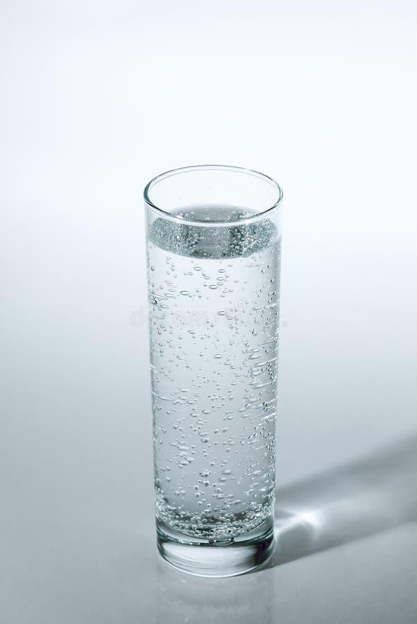 Стекло воды соды стоковое фото rf