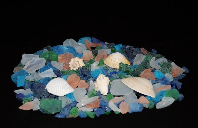 Стекло моря стоковая фотография rf