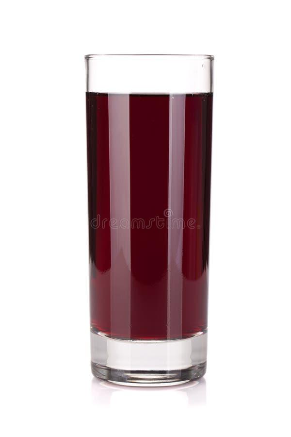 Стекло сока виноградины стоковые фотографии rf