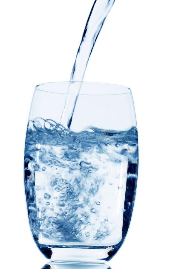 Стекло с водой стоковая фотография
