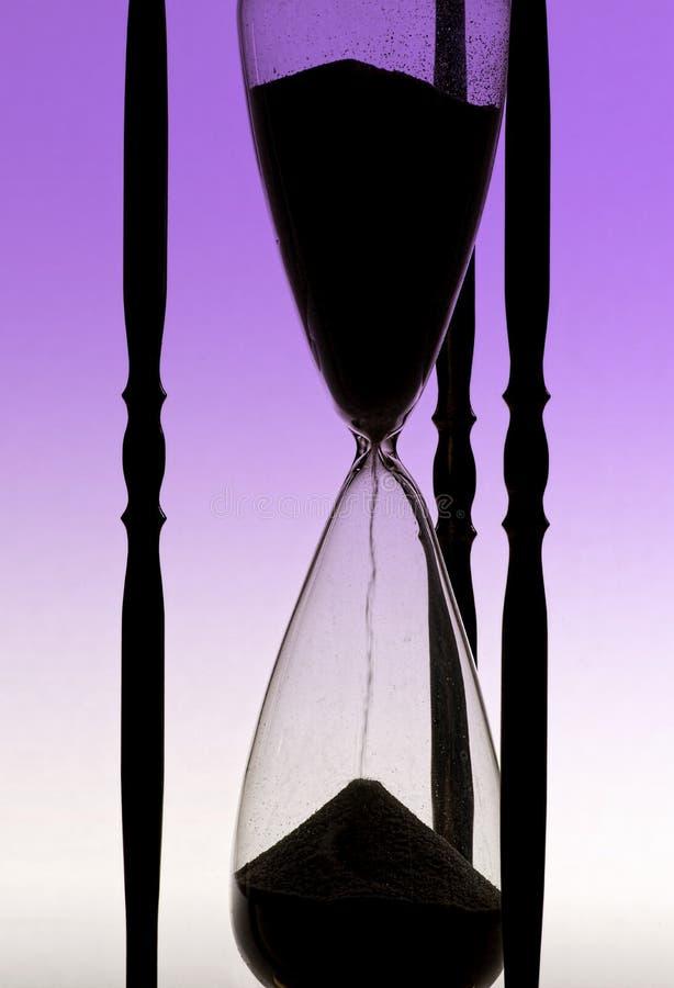 Стекло часа стоковое изображение