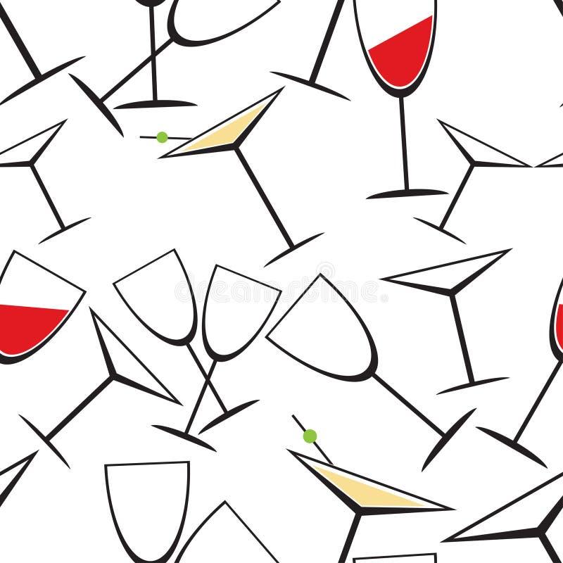Download Стеклянная безшовная картина Иллюстрация вектора - иллюстрации насчитывающей иллюстрация, картина: 41658756