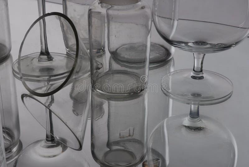 Стеклянное отражение стоковые фото
