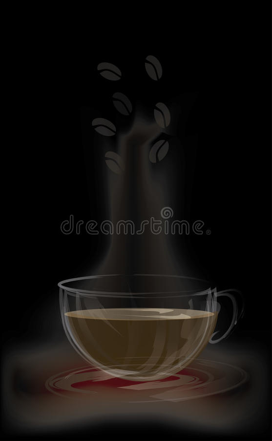 Download Стеклянный график кофейной чашки Стоковое Изображение - изображение насчитывающей asama, bearable: 41650335