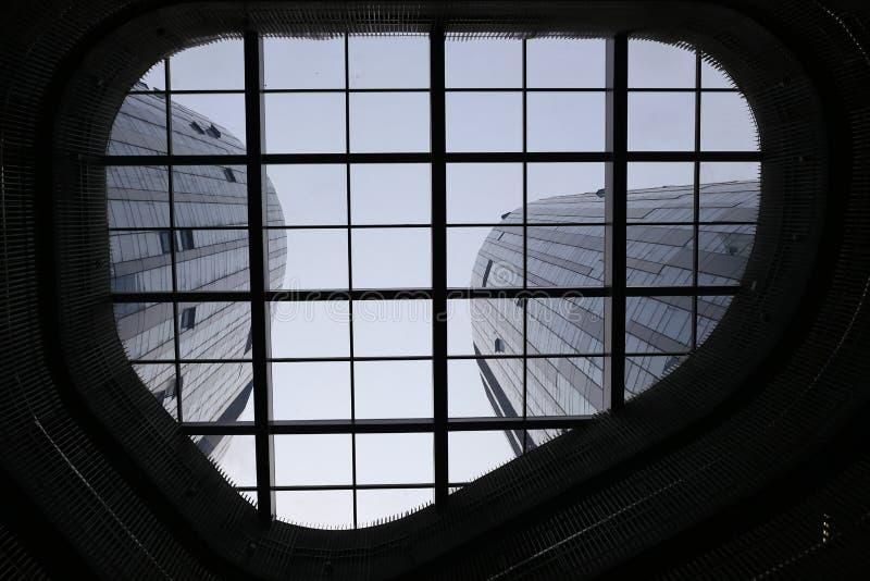 Стеклянный лифт стоковая фотография rf