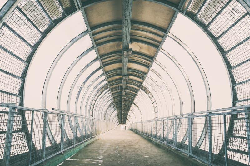 Стеклянный мост стоковые фотографии rf