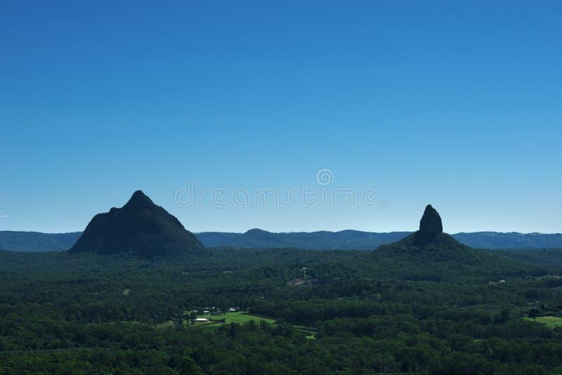 Стеклянный национальный парк гор дома в Австралии стоковая фотография
