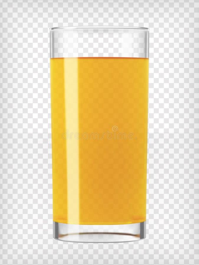 стеклянный помеец сока бесплатная иллюстрация