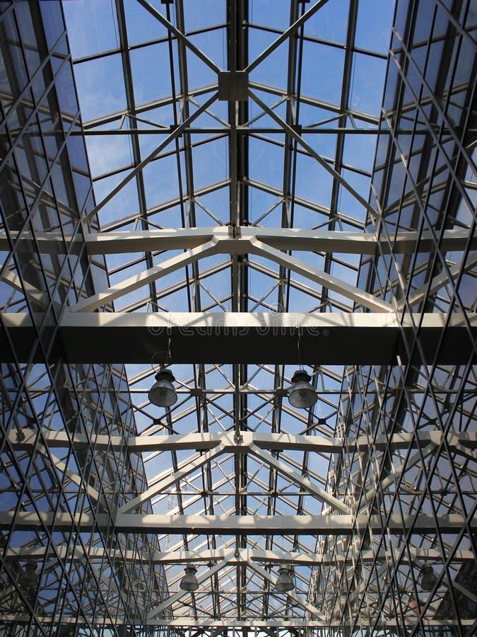 Стеклянный потолок стоковые изображения rf